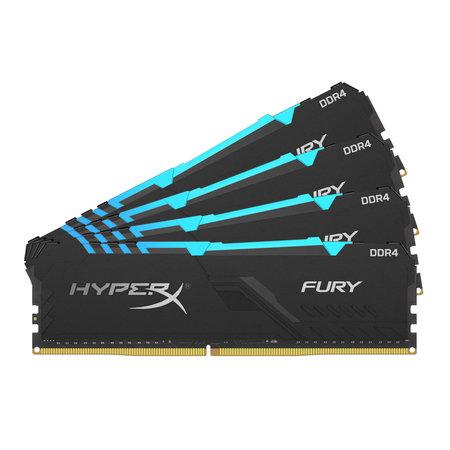 Kingston HyperX FURY HX426C16FB3AK4/32 geheugenmodule 32 GB DDR4 2666 MHz