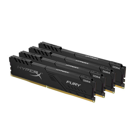 Kingston HyperX FURY HX432C16FB3K4/32 geheugenmodule 32 GB 4 x 8 GB DDR4 3200 MHz