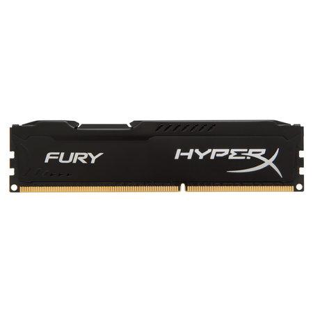 Kingston HyperX FURY Black 4GB 1333MHz DDR3 geheugenmodule 1 x 4 GB