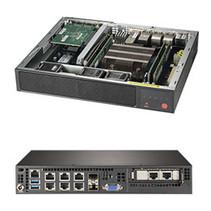 Supermicro SuperServer E300-9D-8CN8TP Intel SoC zwart