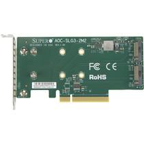 Server Super Micro PCIe Adapter AOC-SLG3-2M2-O zonder OS