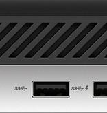 Hewlett & Packard INC. HP ProDesk 400 G4 9th gen Intel® Core™ i5 i5-9500T 8 GB DDR4-SDRAM 256 GB SSD Zwart, Zilver Mini PC