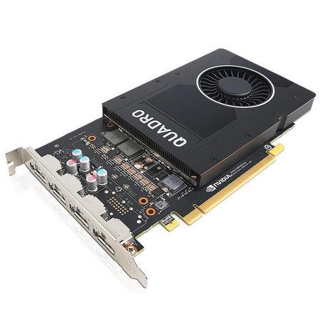 Lenovo Lenovo ThinkStation P520c + Nvidia Quadro P2000 5GB Intel® Xeon® W-2123 16 GB DDR4-SDRAM 256 GB SSD Zwart Toren Workstation