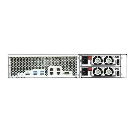 Asustor Asustor AS6212RD data-opslag-server Ethernet LAN Rack (2U) Zwart NAS