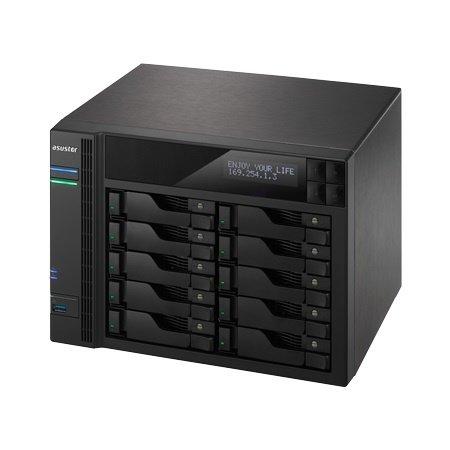 Asustor Asustor AS7010T Ethernet LAN Compact Zwart NAS