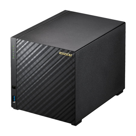 Asustor ASUS AS3204T v2 Ethernet LAN Zwart NAS