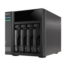 "Asustor AS6004U 2.5/3.5"" HDD-/SSD-behuizing Zwart"