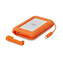 LaCie STFS500400 externe solide-state drive 500 GB Oranje, Wit