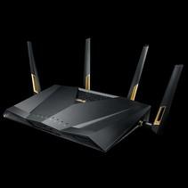 ASUS RT-AX88U draadloze router Dual-band (2.4 GHz / 5 GHz) 3G 4G Zwart