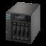 Asustor Asustor AS6404T J3455 Ethernet LAN Mini Tower Zwart NAS