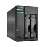 Asustor Asustor AS6302T J3355 Ethernet LAN Tower Zwart NAS