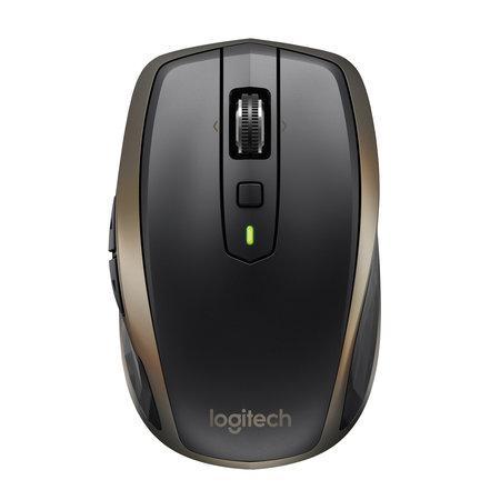 Logitech bulk Logitech MX Anywhere 2 muis RF draadloos + Bluetooth Laser 1000 DPI Rechtshandig