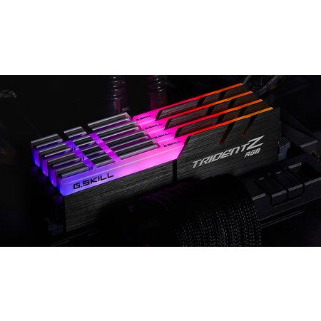 G.Skill G.Skill Trident Z RGB F4-3600C18Q-64GTZR geheugenmodule 64 GB 4 x 16 GB DDR4 3600 MHz