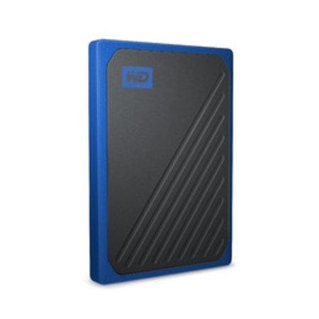 Western Digital Western Digital My Passport Go 1000 GB Zwart, Blauw