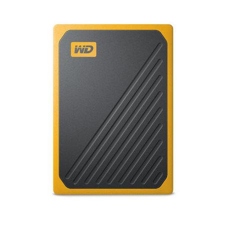 Western Digital Western Digital My Passport Go 1000 GB Zwart, Geel