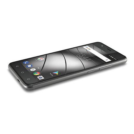 "GIGASET Gigaset GS270 plus 13,2 cm (5.2"") 3 GB 32 GB Hybride Dual SIM Grijs 5000 mAh"