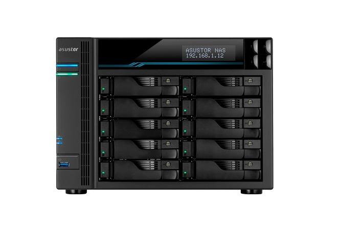 Asustor Asustor AS6510T C3538 Ethernet LAN Tower Zwart NAS
