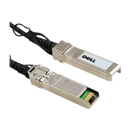 Dell DELL 470-AAVH Glasvezel kabel 1 m SFP+ Zwart