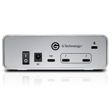 G-Technology G-Technology G-DRIVE Thunderbolt 3 externe harde schijf 10000 GB Zilver