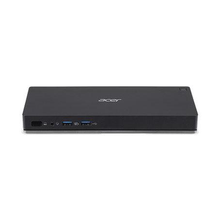 Acer Acer NP.DCK11.01N notebook dock & poortreplicator Docking USB 3.0 (3.1 Gen 1) Type-C Zwart