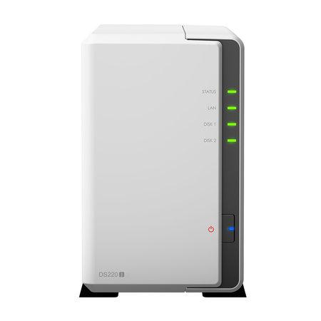 Synology Synology DiskStation DS220j RTD1296 Ethernet LAN Mini Toren Wit NAS