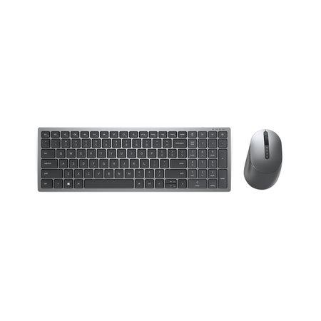 Dell DELL KM7120W toetsenbord RF-draadloos + Bluetooth QWERTY US International Grijs, Titanium