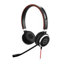 Jabra Evolve 40 UC Stereo USB-C Headset Hoofdband Zwart