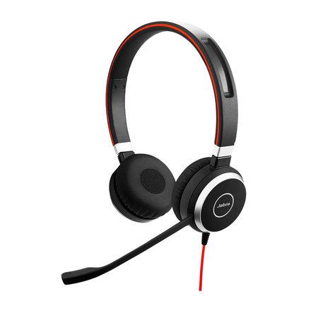 Jabra Jabra Evolve 40 MS Stereo USB-C Headset Hoofdband Zwart