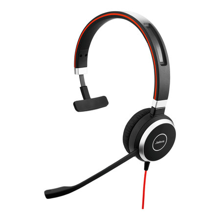 Jabra Jabra Evolve 40 UC Mono USB-C Headset Hoofdband Zwart