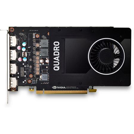 Hewlett & Packard INC. HP 6YT67AA videokaart NVIDIA Quadro P2200 5 GB GDDR5X