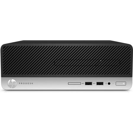 Hewlett & Packard INC. HP ProDesk 400 G6 Intel® 9de generatie Core™ i5 i5-9400 8 GB DDR4-SDRAM 256 GB SSD SFF Zwart PC Windows 10 Pro