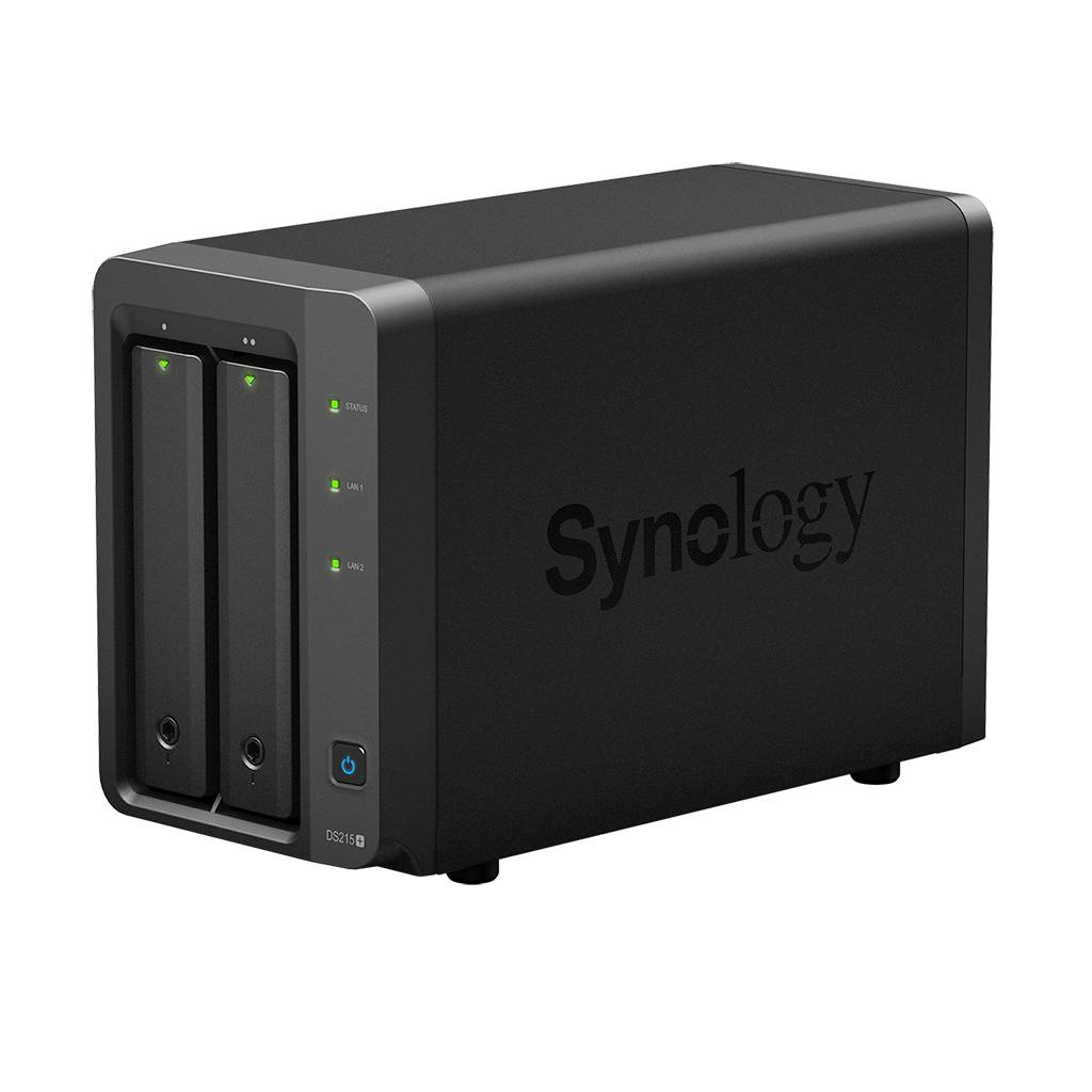 Nieuwe Synology DS215+ en DS715
