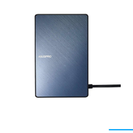 Asus ASUS SimPro Dock Bedraad USB 3.2 Gen 1 (3.1 Gen 1) Type-C Zwart, Blauw