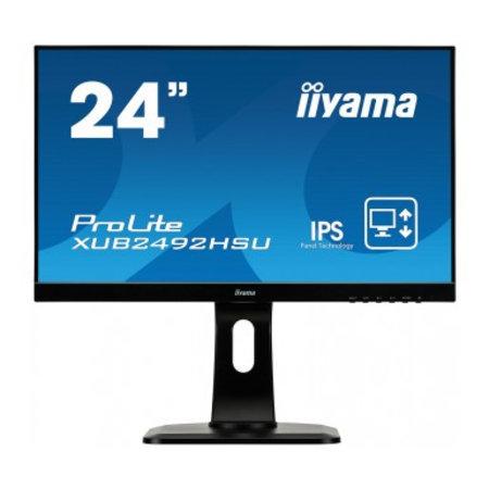 "Iiyama iiyama ProLite XUB2492HSU-B1 LED display 60,5 cm (23.8"") 1920 x 1080 Pixels Full HD Zwart"