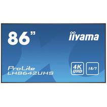 "iiyama Prolite LH8642UHS-B1 2,17 m (85.6"") IPS 4K Ultra HD Type processor Android 8.0"