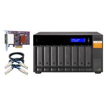 """QNAP TL-D800S behuizing voor opslagstations 2.5/3.5"""" HDD-/SSD-behuizing Zwart, Grijs"""