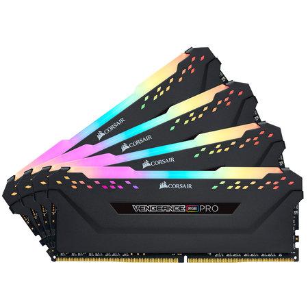 Corsair Corsair Vengeance CMW64GX4M4E3200C16 geheugenmodule 64 GB 4 x 16 GB DDR4 3200 MHz
