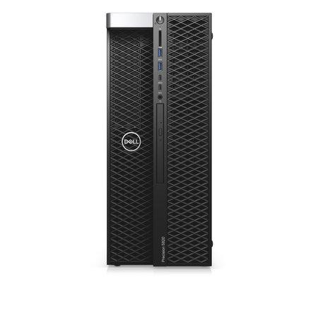 Dell DELL Precision 5820 Intel® 10de generatie Core™ i9 i9-10920X 16 GB DDR4-SDRAM 512 GB SSD Tower Zwart Workstation Windows 10 Pro