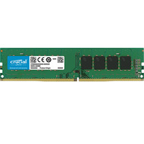 DDR4  4GB PC 3200 CL22  Crucial Single Rank retail