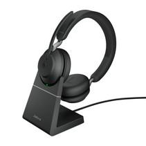 Jabra Evolve2 65, MS Stereo Headset Hoofdband Zwart