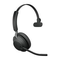 Jabra Evolve2 65, UC Mono Headset Hoofdband Zwart