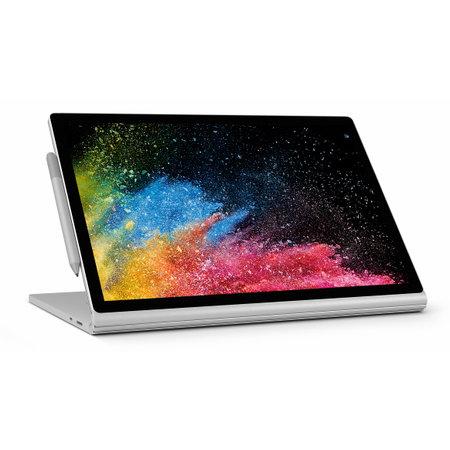 "Microsoft Microsoft Surface Book 2 Hybride (2-in-1) Zilver 38,1 cm (15"") 3240 x 2160 Pixels Touchscreen Intel® 8de generatie Core™ i7 16 GB LPDDR3-SDRAM 1000 GB SSD NVIDIA® GeForce® GTX 1060 Windows 10 Pro"