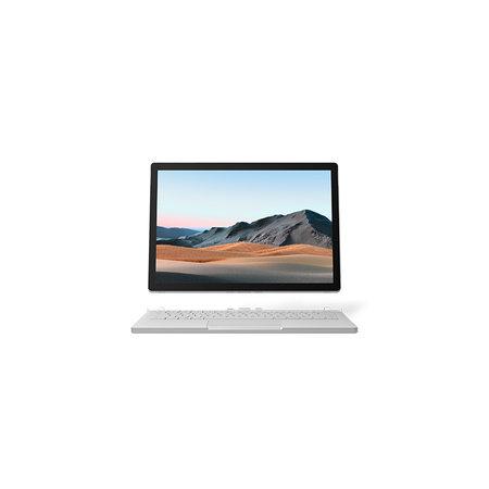 "Microsoft Microsoft Surface Book 3 Hybride (2-in-1) Platina 34,3 cm (13.5"") 3000 x 2000 Pixels Touchscreen Intel® 10de generatie Core™ i7 32 GB LPDDR4x-SDRAM 512 GB SSD Wi-Fi 6 (802.11ax) Windows 10 Pro"