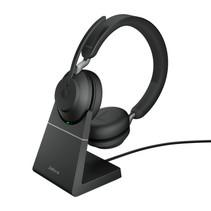 Jabra Evolve2 65, UC Stereo Headset Hoofdband Zwart