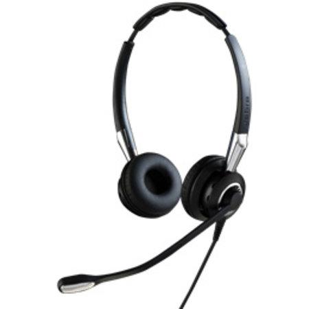 Jabra Jabra Biz 2400 II QD Duo NC Headset Hoofdband Zwart, Zilver