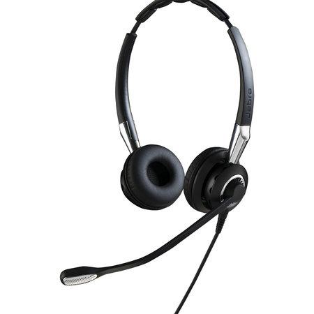 Jabra Jabra BIZ 2400 II QD Duo NC WideBand Headset Hoofdband Zwart