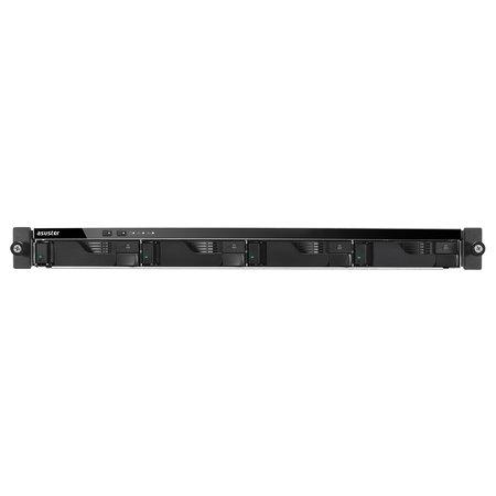 Asustor Asustor AS6204RD Ethernet LAN Rack (1U) Zwart NAS