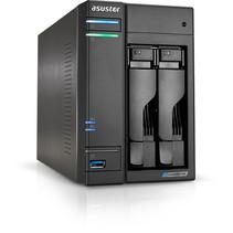 Asustor AS6602T data-opslag-server J4125 Ethernet LAN Tower Zwart NAS