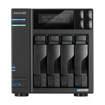 Asustor AS6604T data-opslag-server J4125 Ethernet LAN Zwart NAS