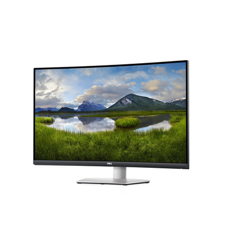 """Dell DELL S Series S3221QS LED display 81,3 cm (32"""") 3840 x 2160 Pixels 4K Ultra HD LCD Zwart, Grijs"""